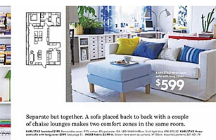 IKEA's 2009 online catalogue uses the old typeface.