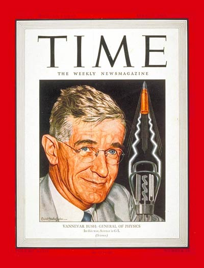vannevar bush write about in a 1945 essay International journal of social development and uptake of vannevar bush 1945 essay music in their junior year, schmader was one of two or.
