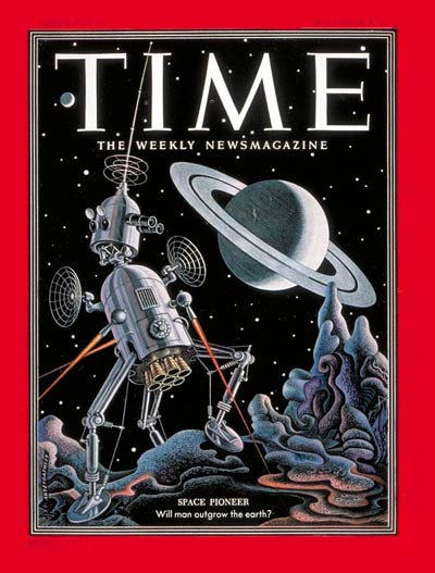 TIME Magazine Cover: Space Pioneer - Dec. 8, 1952